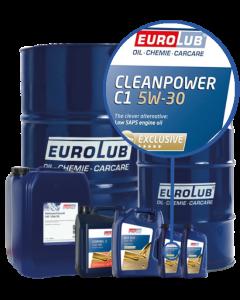 Eurolub Motoröl 5W30 Cleanpower C1 5W-30